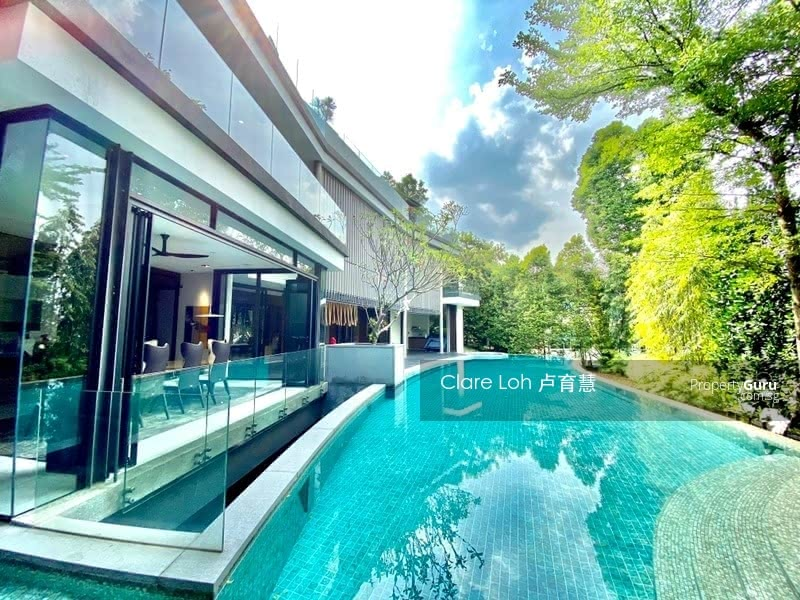 Ultra modern gcb with lush greenery and privacy for sale #127599575