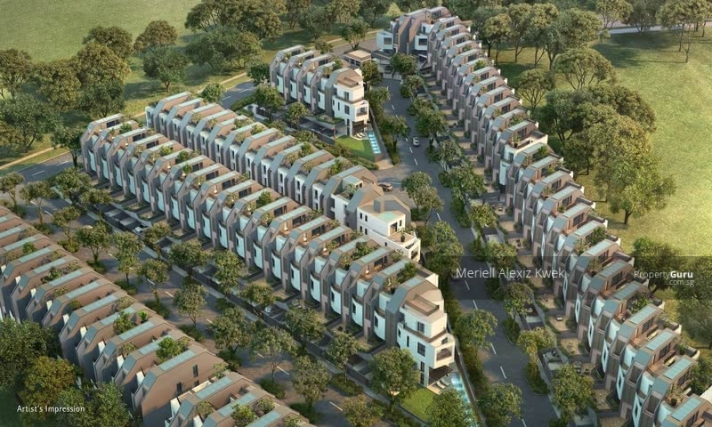 New residential development, fresh community