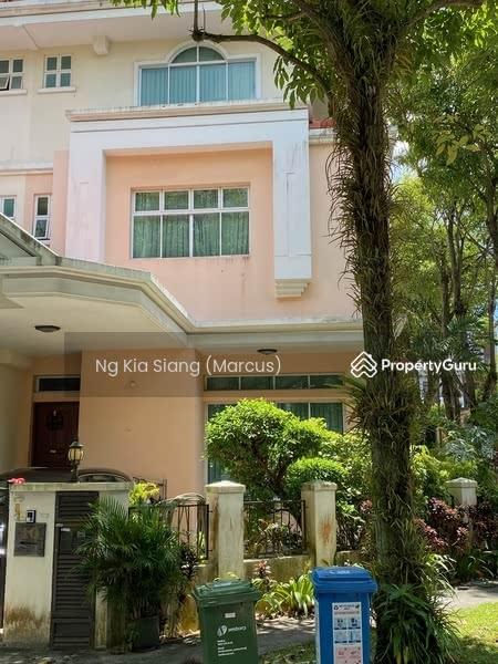 3 Storey Corner Terrace Near Singapore American School #127639853