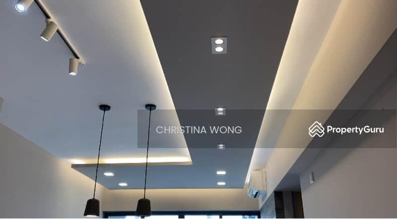 Renovated ceiling design