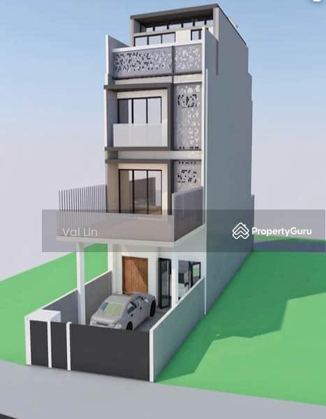 D19 Simon Lane ★ $4.38m TOP 2021 Brand New Modern 3.5 Storey Terrace House Near Kovan MRT #128152455