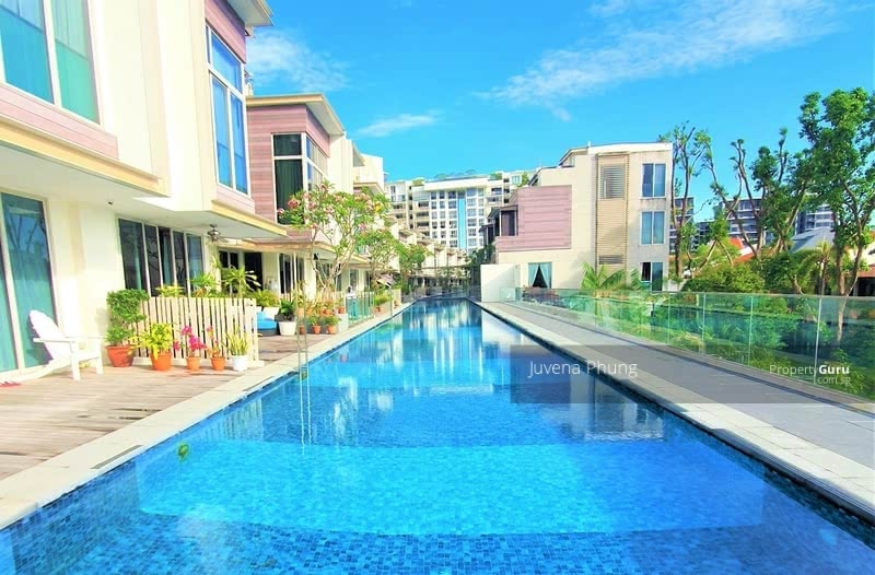 A Charming Lap Pool right in front of Door Step