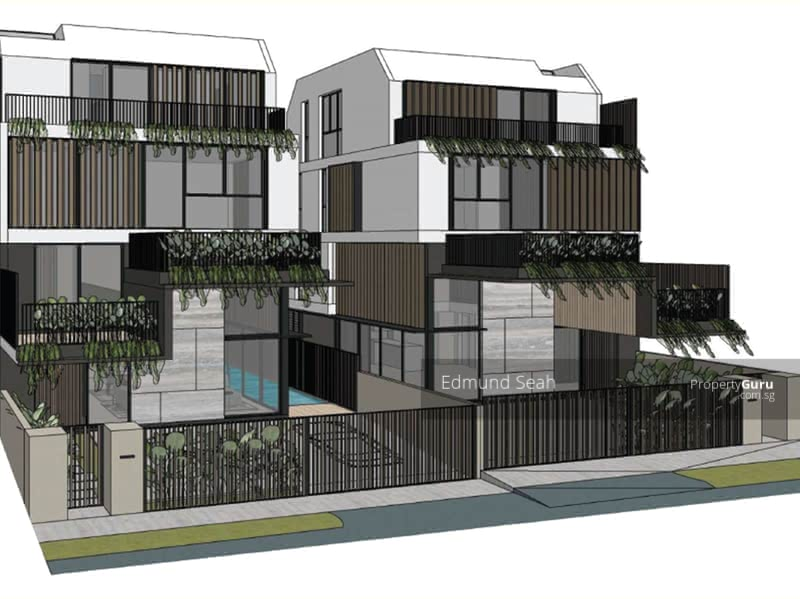 ★ Serangoon Garden ★ Brand New Semi-D with Pool / Lift ★ #127777443