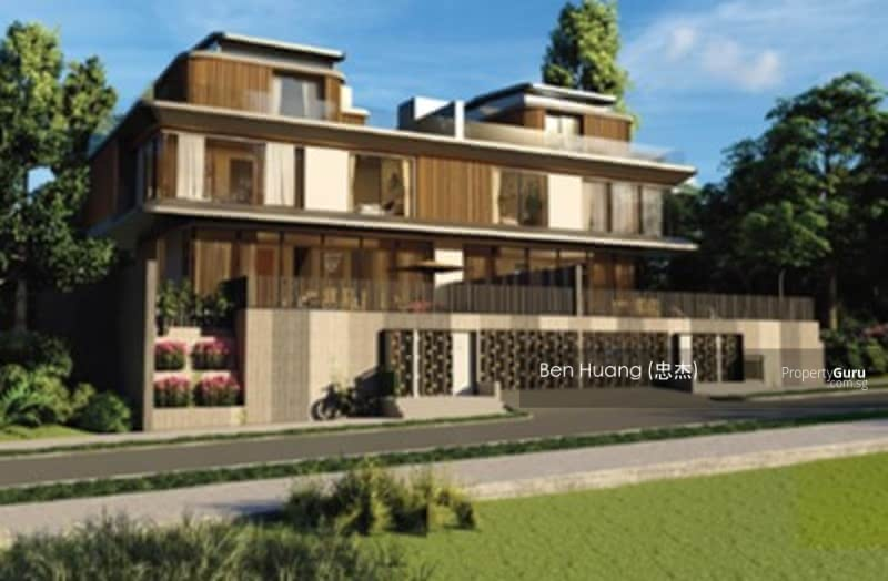 Eminence Landed  Brand New 2.5 with Basement Storey Semi-D @ Greenwood Ben Huang 84884454 #127919811