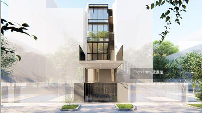 For Sale - D15 Freehold Terrace Brand New 3. 5 Storey 5 ensuites bedrooms in Katong vicinity Ceylon road