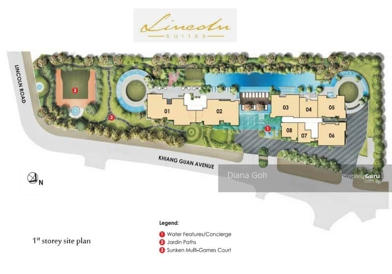 Lincoln Suites #128056227