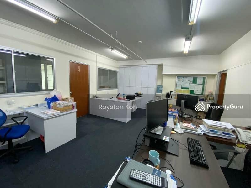 Mezzanine Office Area