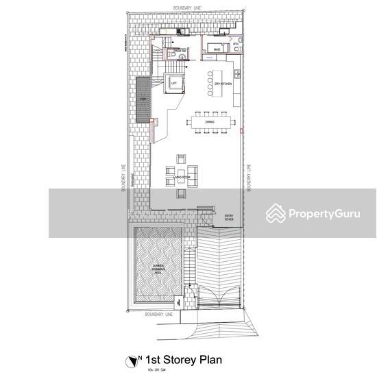 Jalan Arnap 2 Storey Semi-D with Basement, Pool, lift #128378397