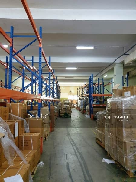 19k sq.ft. 3 storey terrace factory, 32 years bal lease. 2.5 ton cargo lift. Container direct access #128460293