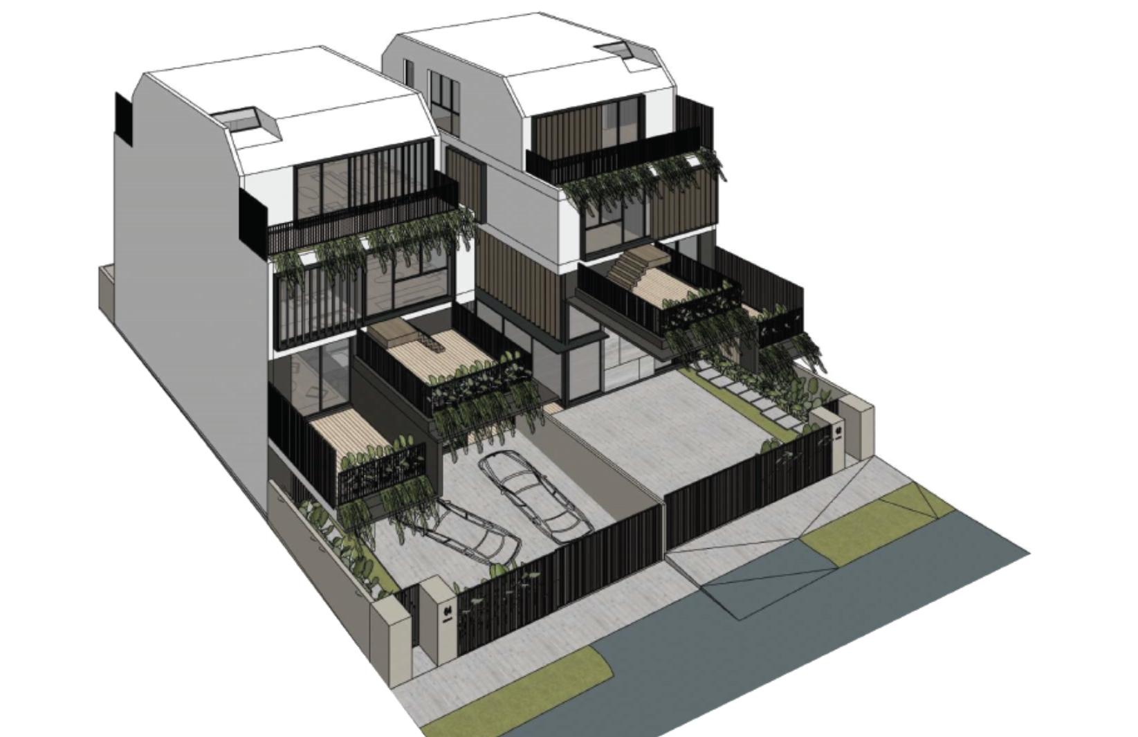 *D19* Brand New 2.5 Storey Corner Terrace @ Serangoon Garden #128463797