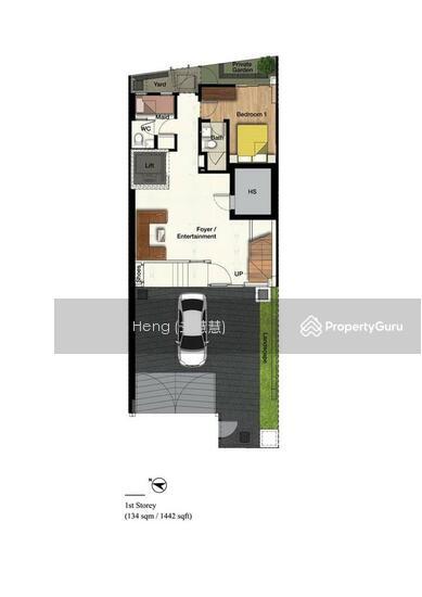 Brand New Inter-Terrace at Figaro St, Cul de sac, Park View. (Call Sharon Heng 8188 3233 now!) #128509331