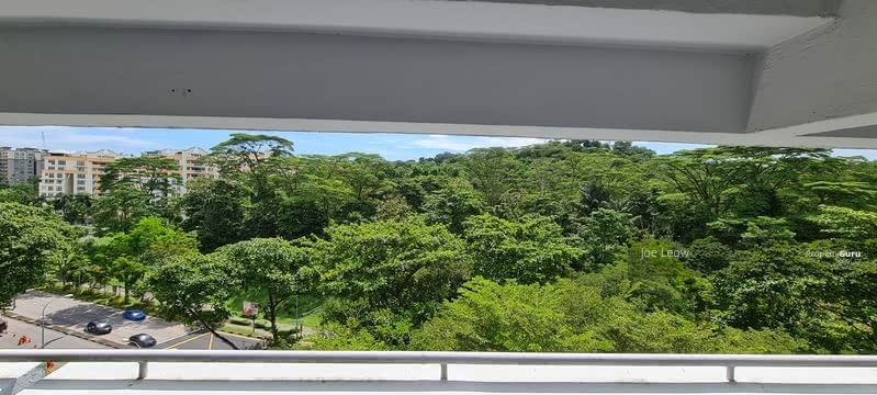 VIEW FROM LIVING HALL