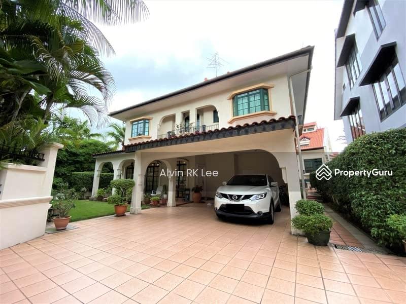 Bungalow House Nestled In Seletar Landed Enclave #128530123