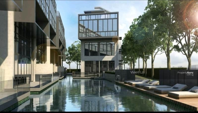 Brand New Semi D Landed House With Condo Facilities. Walk to Hougang Bus Interchange/MRT #128599411