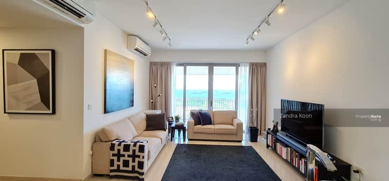 V on Shenton 2+Study Living, Dining, Bedrooms & Kitchen with Seaview ! Best layout !
