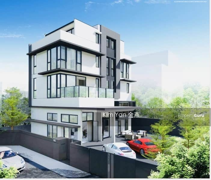 Brand New & Freehold Bungalow with Lift & Basement, 6 Bedrooms Ensuite, Kovan MRT &Heartland Mall #129680737
