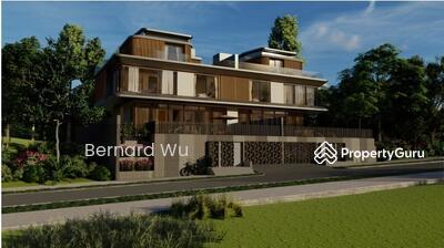 For Sale - Modern Brand New Semi D Watten Estate / Greenmead / 1km Raffles Girl Pri Sch ( Bernard Wu 93893139 )