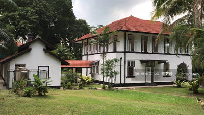 For Rent - ⭐BEAUTIFUL BLACK AND WHITE BUNGALOW @ MOUNT PLEASANT ROAD - 4MINS WALK TO SINGAPORE POLO CLUB⭐