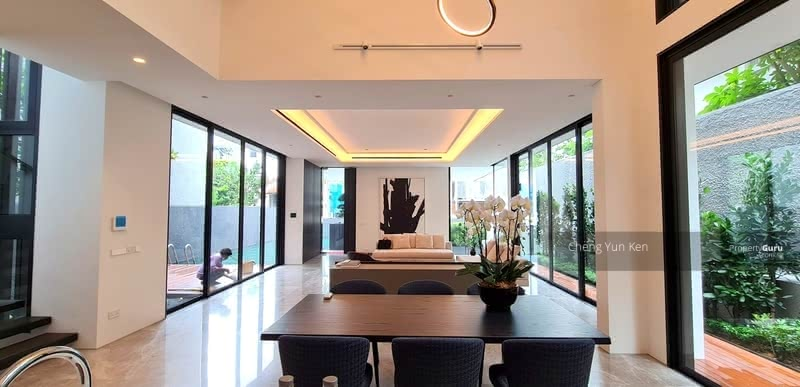 The King of Semi Detached at Bukit Timah Watch Video #128793493