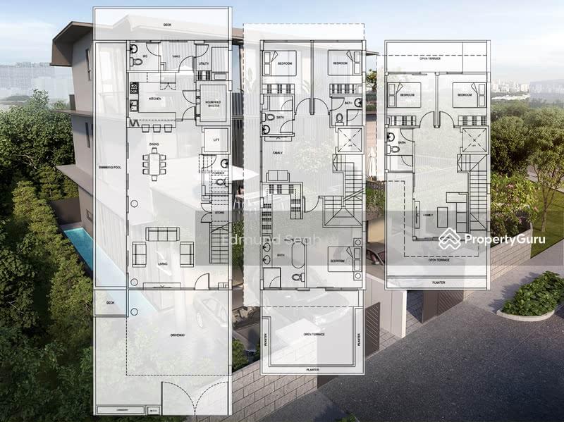 ★ Serangoon Garden ★ Brand New Semi-D with Pool / Lift ★ #128808371