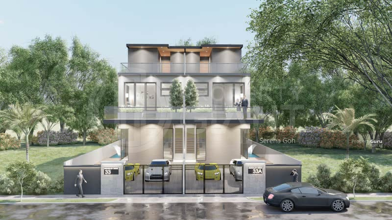 For Sale - ⭐️ Burghley Dreams ⭐️  Brand New Semi-D Serangoon Gardens Burghley Drive ⭐️ By Property Giant