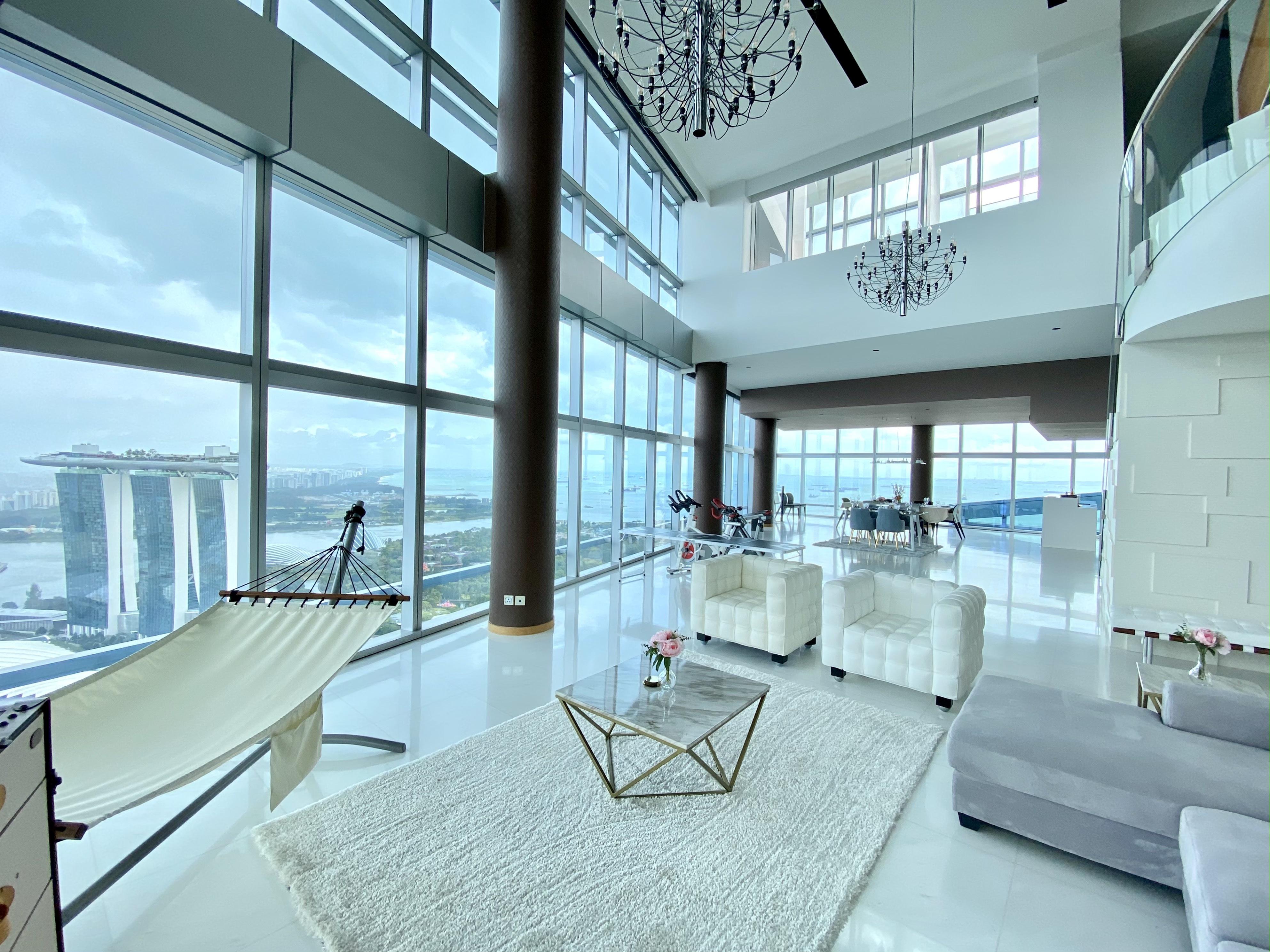 MBS View SKY VILLA GCB BUNGALOW 28,258 sqft 25m Rooftop Pool 24 Bedrooms Marina Bay Orchard Sentosa #128881371
