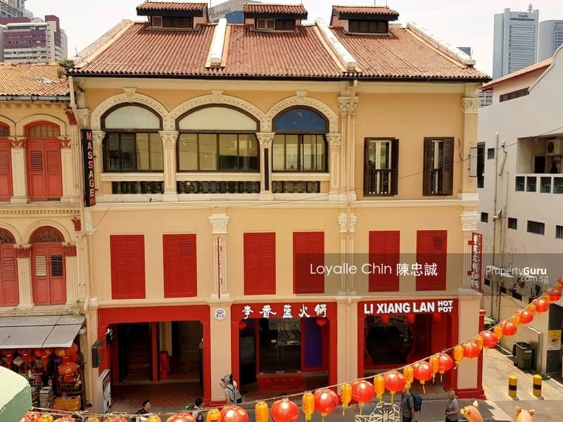 ☎️ 少有!具有突出正面的廉价牛车水餐饮店屋 ❤️ CHEAP F&B Shophouse with Rare Prominent Frontage in Chinatown. Must See! #128887257