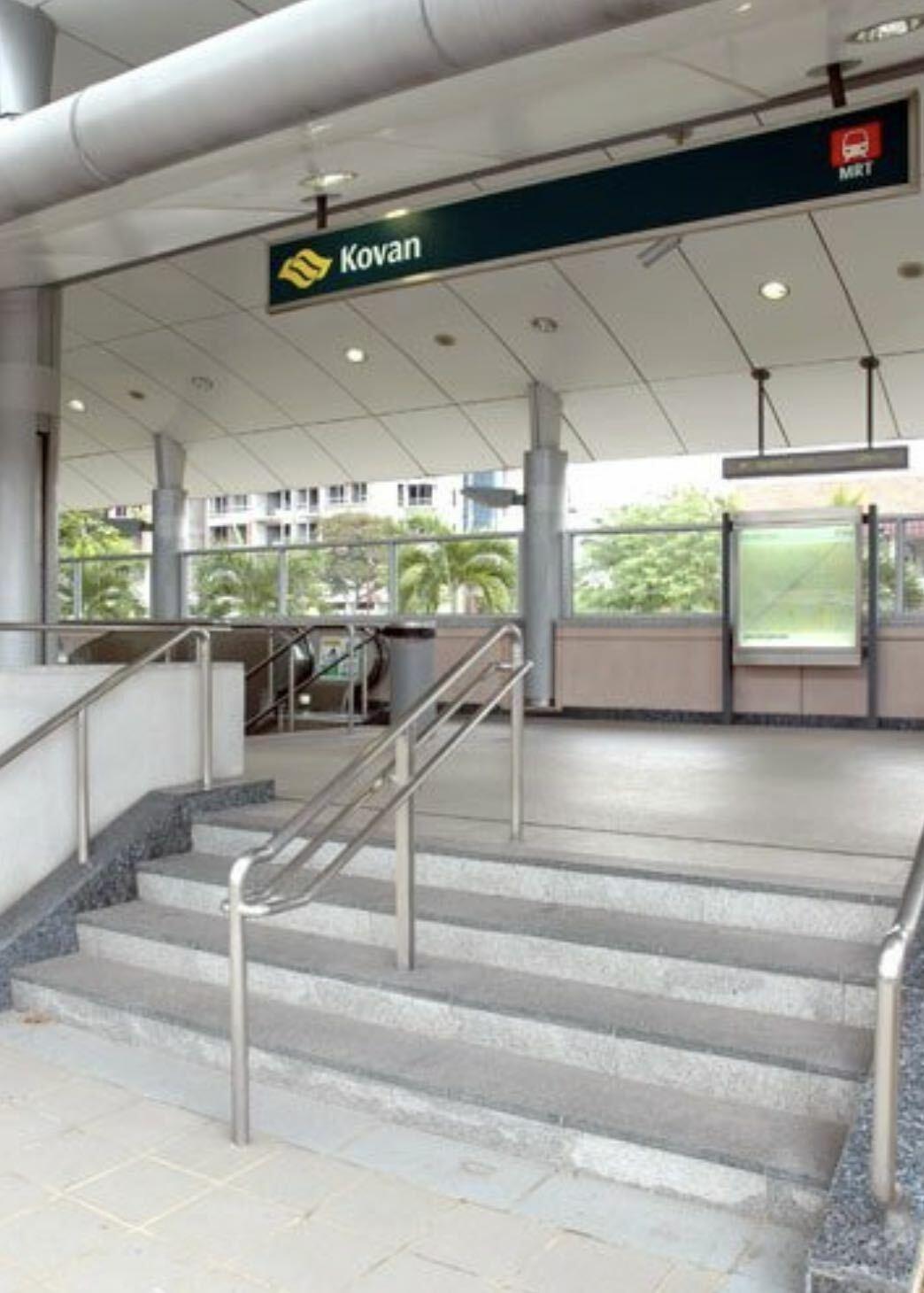 SHORT WALK TO KOVAN MRT, 2STY SEMI-D!! #128934429