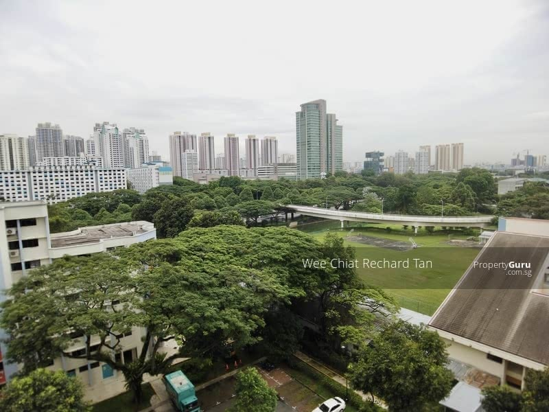 View From Living Rooms And 2 Common Rooms