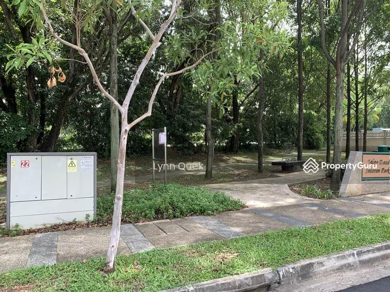 Serene neighbourhood surrounded by greenery