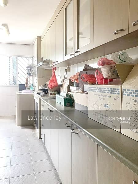 Bright and windy kitchen