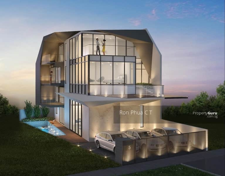 Futuristic - Modern Design Semi-Detached