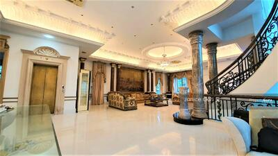 For Sale - Grand Dame in Siglap Bungalow Zone, with basement, pool, lift, attic.  Grandeur all round