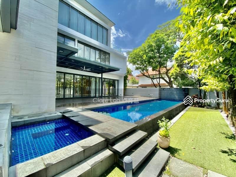 Super modern bungalow near Steven road mrt for rent #129293237