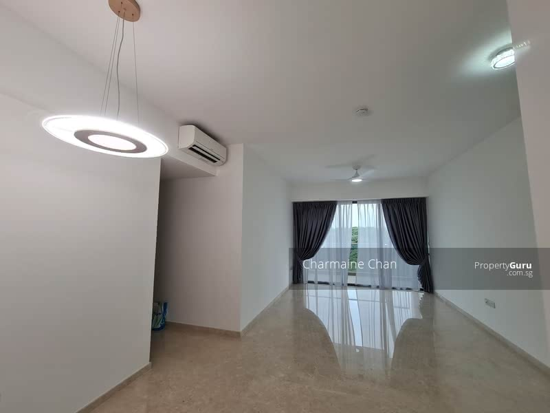 Spacious Living hall and dining area.
