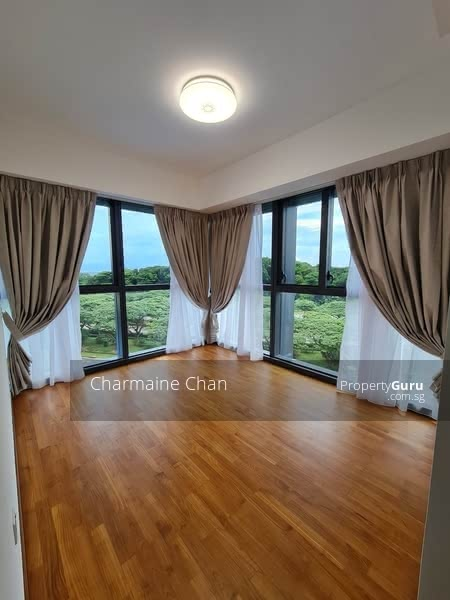 Spacious Master bedroom with awesome view