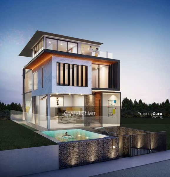 Designer 2-Storey Semi-Detached in Prime D10 with Basement, Pool and Lift #129316123