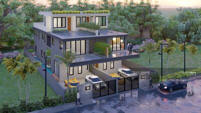 For Sale - ⭐️ Brand New Semi-D ⭐️ Serangoon Gardens Burghley Drive ⭐️ By Property Giant