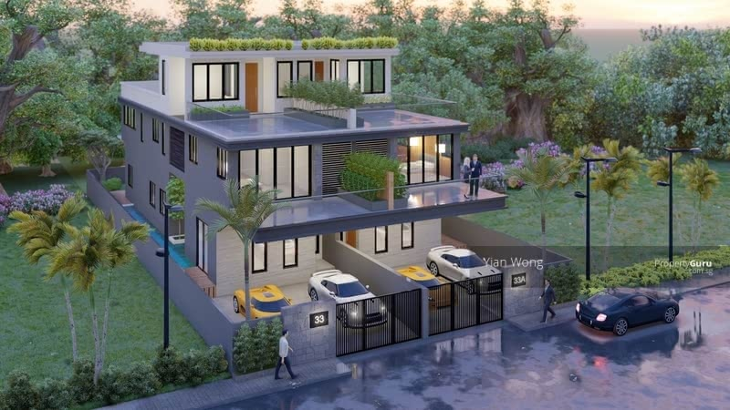 ⭐️ Brand New Semi-D ⭐️ Serangoon Gardens Burghley Drive ⭐️ By Property Giant #129327697