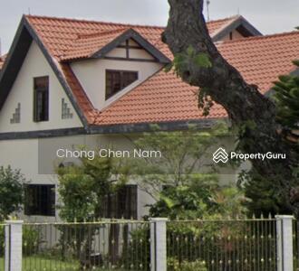 For Sale - WIDE FRONTAGE FRANKEL BUNGALOW CLASSIC TUDOR DESIGN. REBUILD OR A & A. NEAR KEMBANGAN MRT