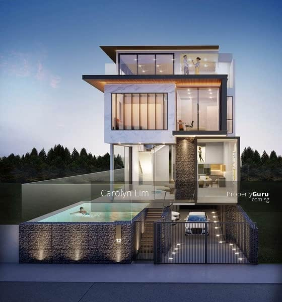 D10 Contemporary Semi-Detached with Pool and Lift #129506575