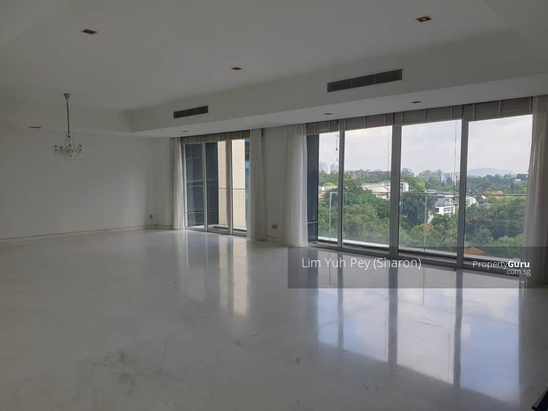 Super spacious living and dinning with great view.