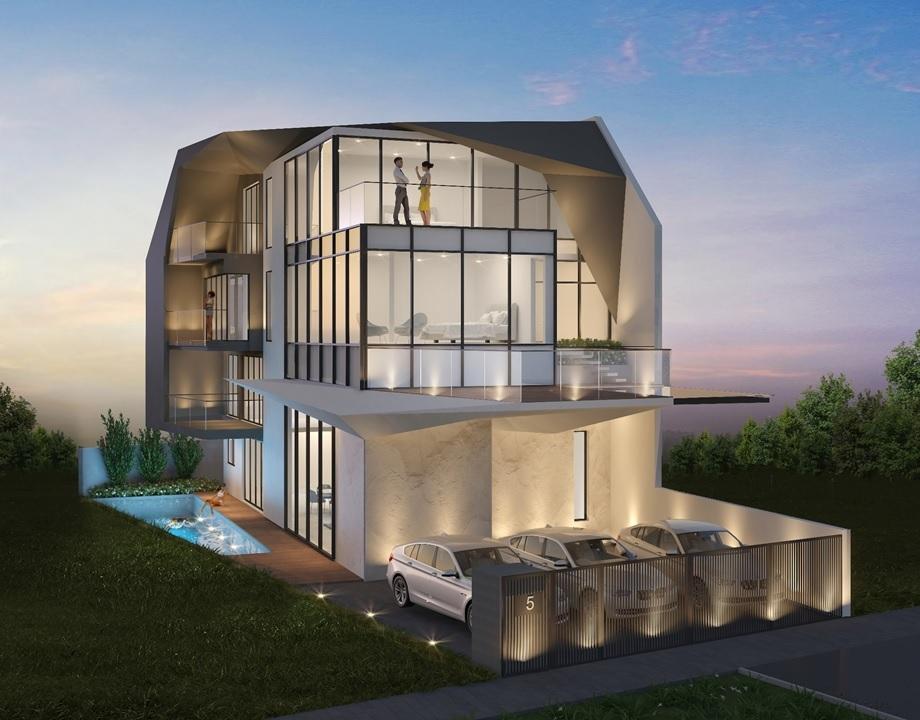 Futuristic-Modern Brand New Semi-D @ One Tree Hill #129571229