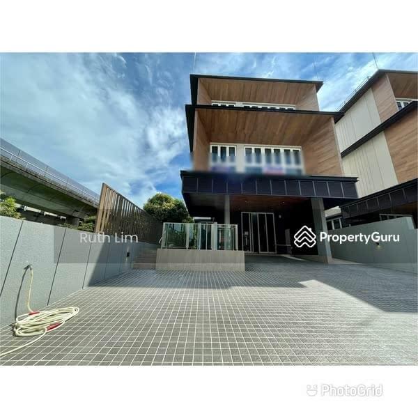 Lorong mydin, walk to kembangan mrt brand new bungalow #129604597