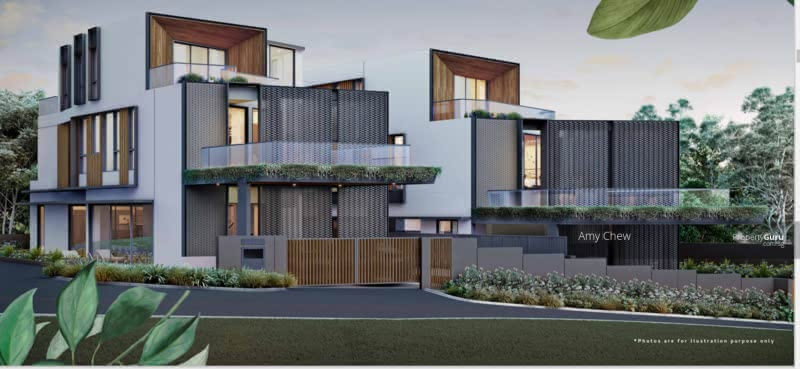 Luxurious Brand New Bungalow with Lift and Pool. Hermes Special Glass Brick Facade #129602307