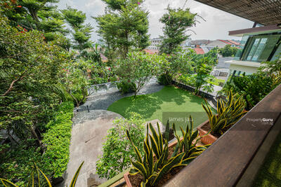 For Sale - GCB Like! Elevated! Beautiful 2. 5 storey with natural basement modern resort!