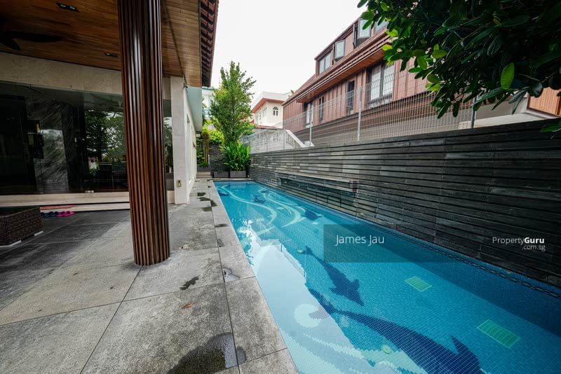 Price Down! GCB Like! Elevated! Beautiful 2.5 storey with natural basement modern resort! #129708749