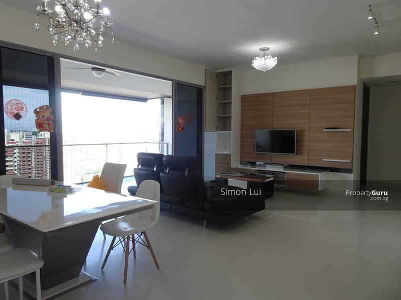 Spacious Living & Dining Area