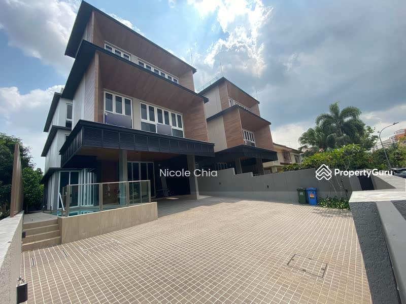 ⭐️ Kembangan brand new bungalow ⭐️ 3 min walk to Kembangan MRT , with pool & lift #129762051