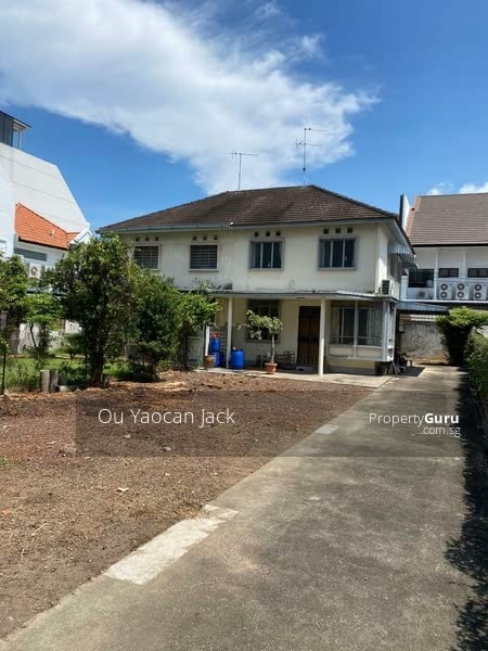 Rare Freehold Semi-D at Tanjong Katong MRT Station suitable for Re-Built! #129942169
